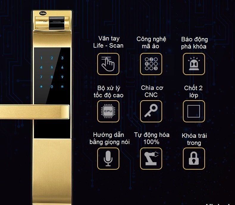 yale-ydm-4109-gold